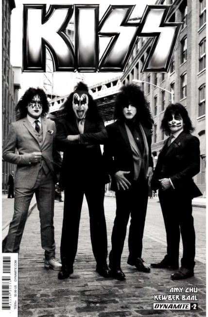KISS #2 Cover C [Dynamite Comic] THUMBNAIL