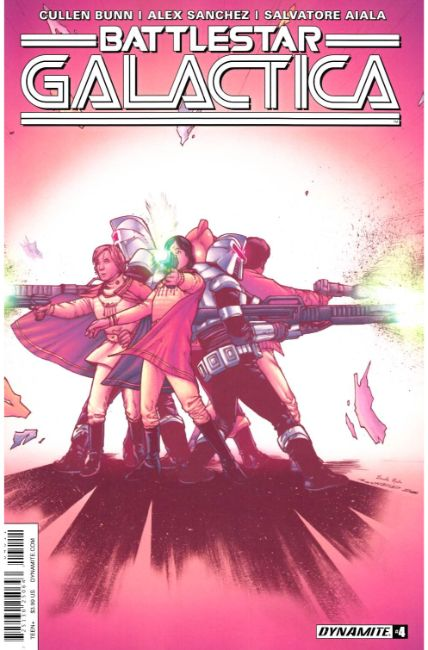 Battlestar Galactica Volume 3 #4 Cover A [Dynamite Comic] LARGE