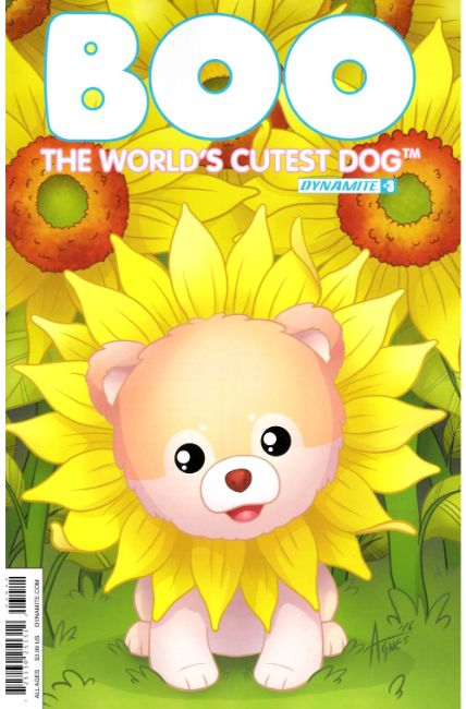 Boo Worlds Cutest Dog #3 Cover A [Dynamite Comic] LARGE