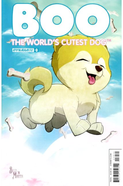 Boo Worlds Cutest Dog #3 Cover C [Dynamite Comic] THUMBNAIL