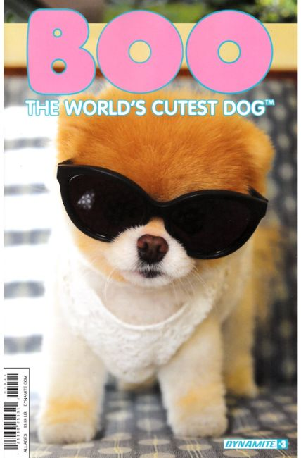 Boo Worlds Cutest Dog #3 Cover D [Dynamite Comic] THUMBNAIL