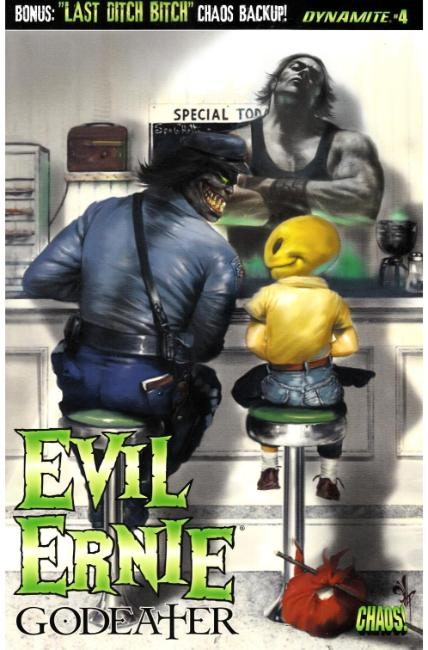 Evil Ernie Godeater #4 Cover A [Dynamite Comic]
