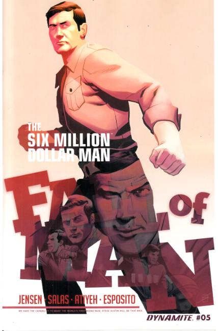 Six Million Dollar Man Fall #5 [Dynamite Comic] THUMBNAIL