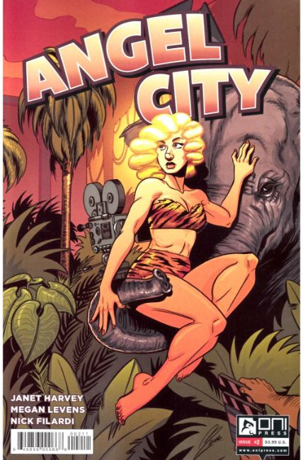 Angel City #2 [Oni Press Comic]