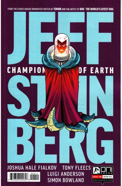 Jeff Steinberg Champion of Earth #4 [Oni Press Comic] THUMBNAIL