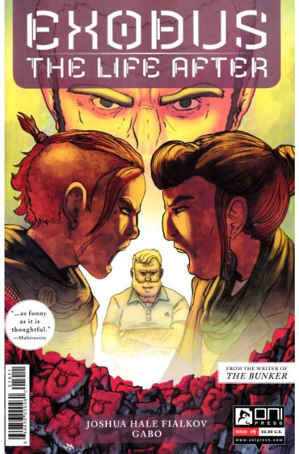 Exodus Life After #9 [Oni Press Comic] LARGE
