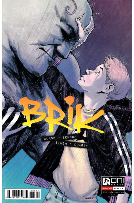 Brik #5 [Oni Press Comic]
