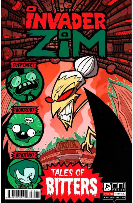 Invader Zim #15 [Oni Press Comic] THUMBNAIL