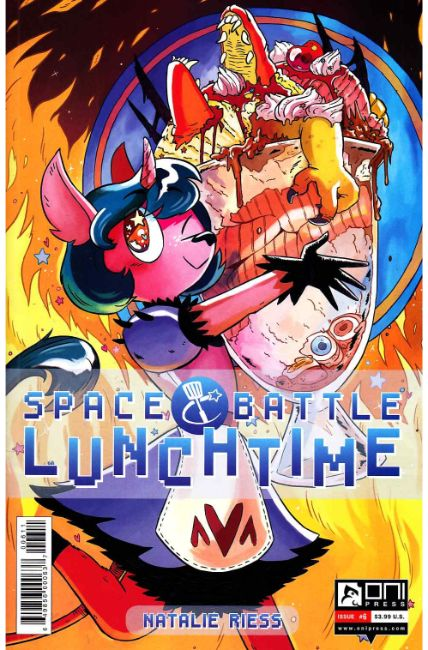 Space Battle Lunchtime #6 [Oni Press Comic] THUMBNAIL