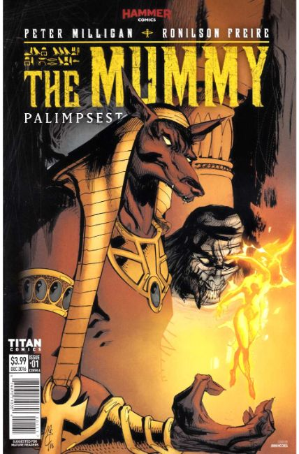 The Mummy #1 Cover A [Titan Comic] THUMBNAIL