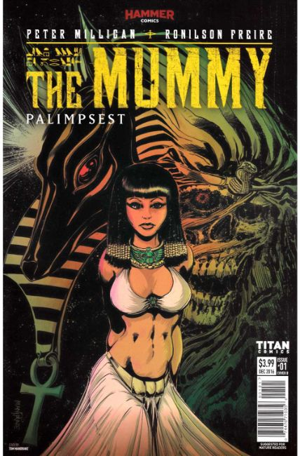 The Mummy #1 Cover B [Titan Comic] THUMBNAIL