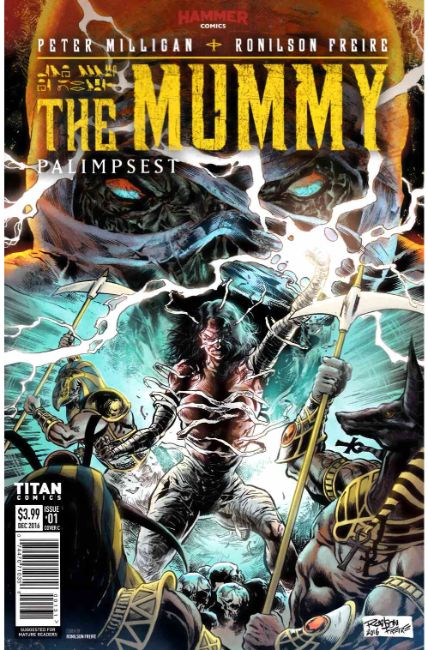 The Mummy #1 Cover C [Titan Comic] THUMBNAIL