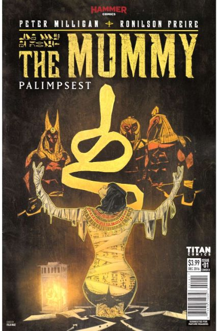 The Mummy #1 Cover D [Titan Comic] THUMBNAIL