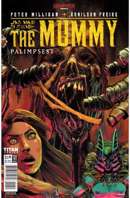 The Mummy #1 Cover E [Titan Comic] THUMBNAIL