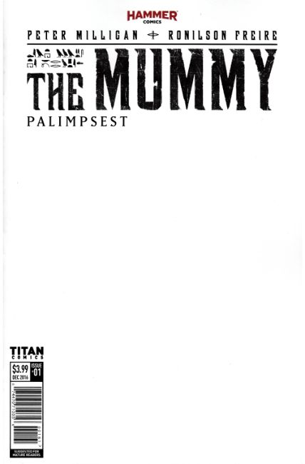 The Mummy #1 Cover F- Blank Sketch [Titan Comic] THUMBNAIL