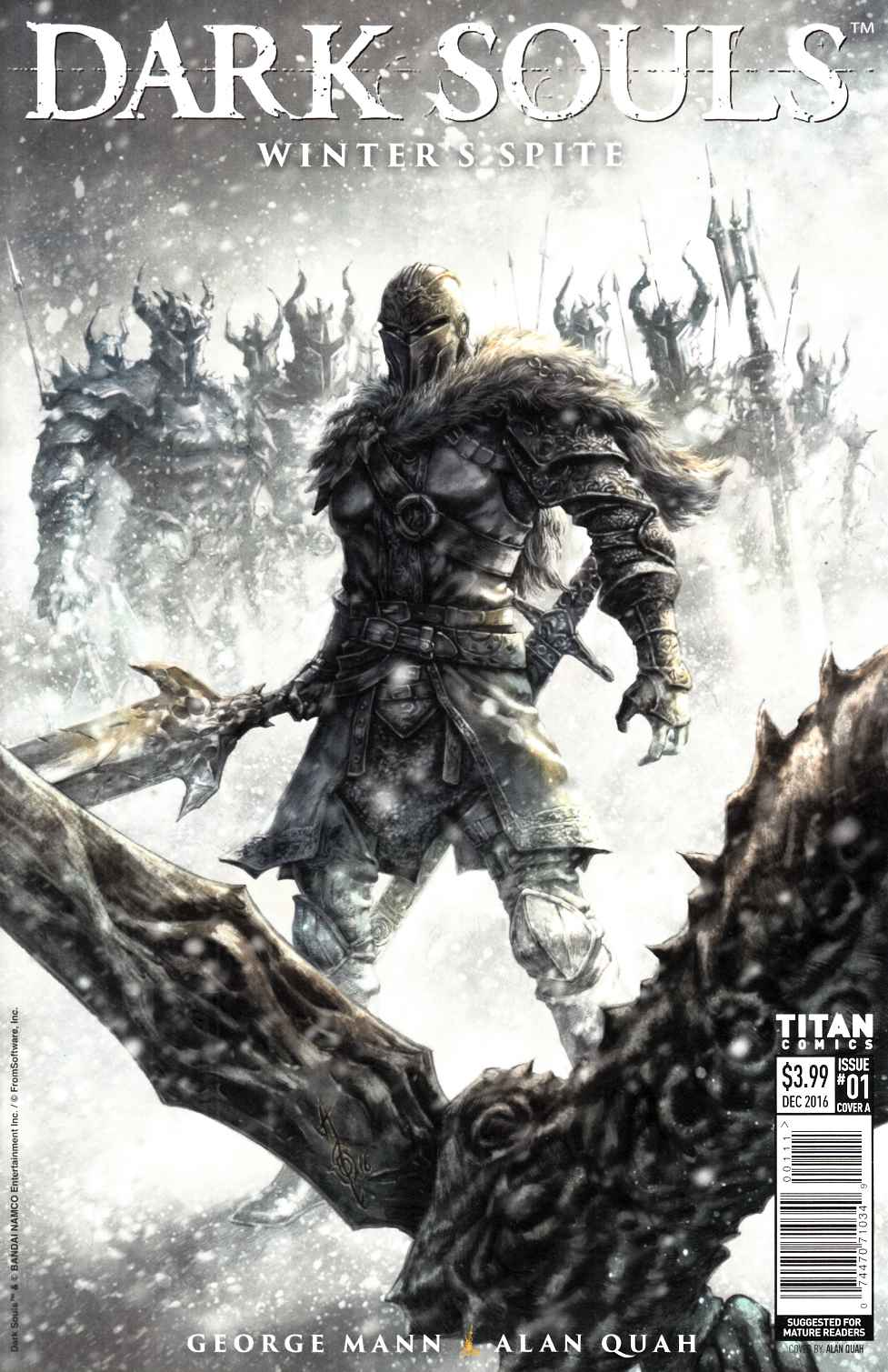 Dark Souls Winters Spite #1 Cover A [Titan Comic] THUMBNAIL