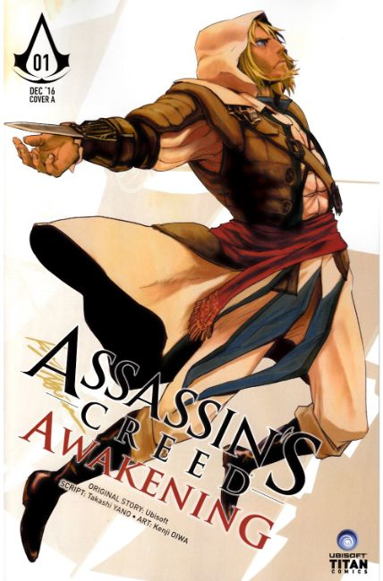 Assassins Creed Awakening #1 Cover A [Titan Comic]_THUMBNAIL