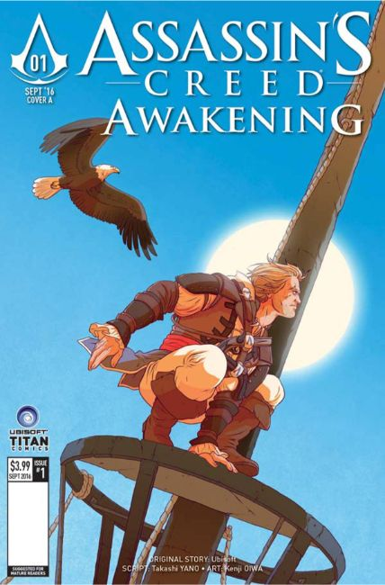 Assassins Creed Awakening #1 Cover D [Titan Comic] THUMBNAIL