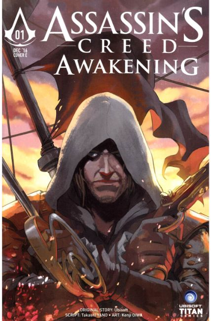 Assassins Creed Awakening #1 Cover E [Titan Comic] THUMBNAIL
