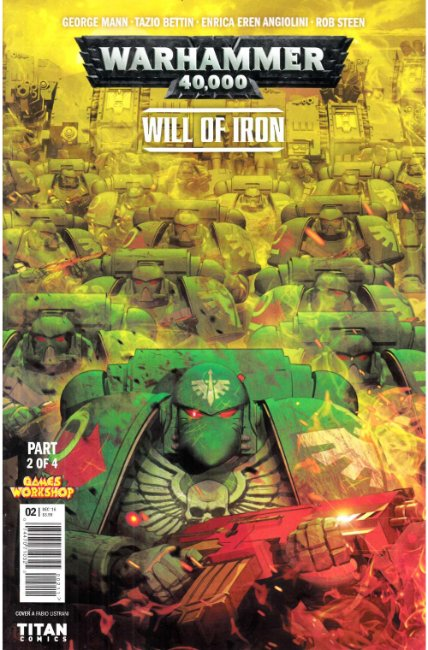 Warhammer 40000 Will of Iron #2 Cover A [Titan Comic] THUMBNAIL