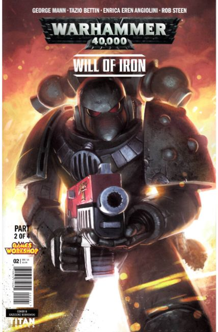 Warhammer 40000 Will of Iron #2 Cover B [Titan Comic] THUMBNAIL