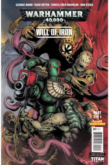 Warhammer 40000 Will of Iron #2 Cover C [Titan Comic] THUMBNAIL