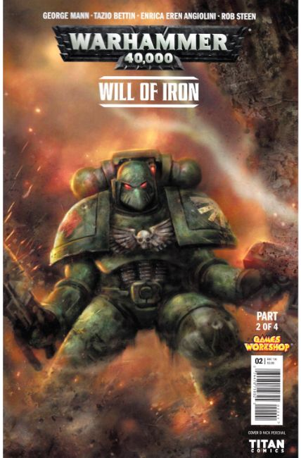Warhammer 40000 Will of Iron #2 Cover D [Titan Comic] THUMBNAIL