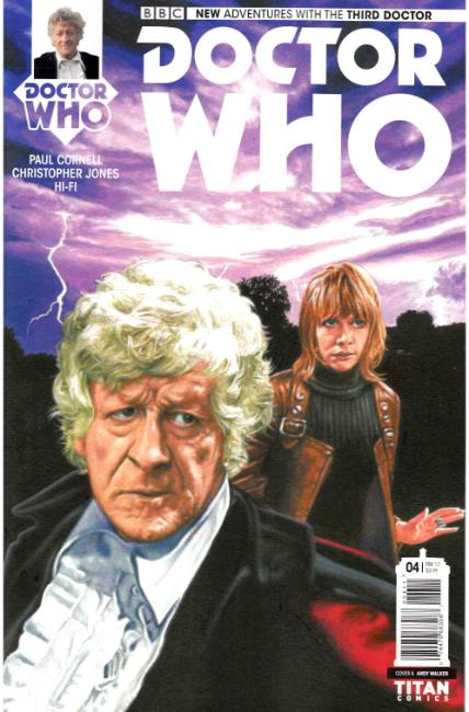 Doctor Who 3rd Doctor #4 Cover A [Titan Comic] THUMBNAIL