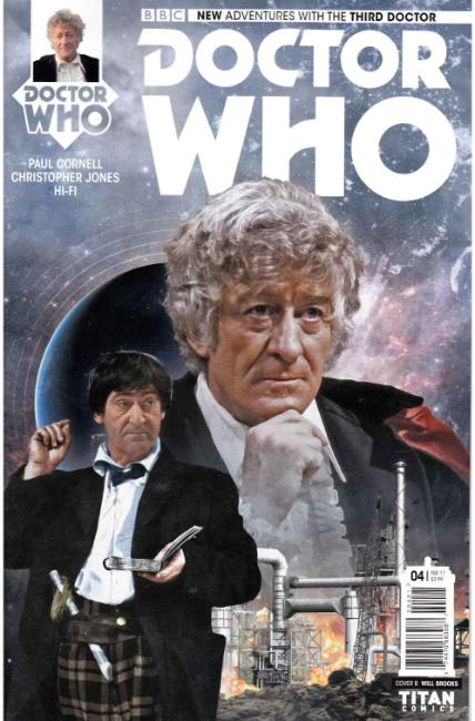 Doctor Who 3rd Doctor #4 Cover B [Titan Comic] THUMBNAIL