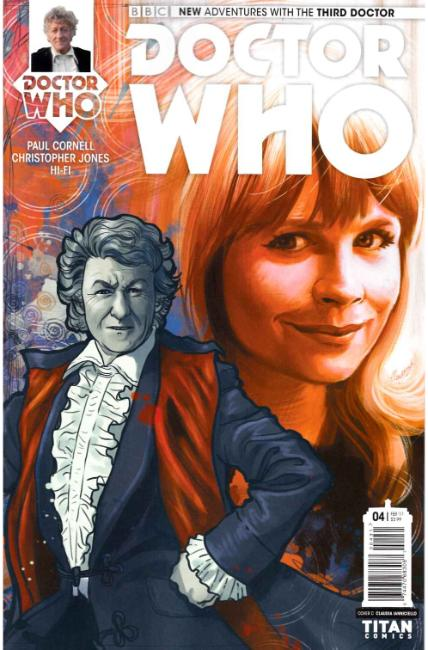 Doctor Who 3rd Doctor #4 Cover C [Titan Comic] THUMBNAIL