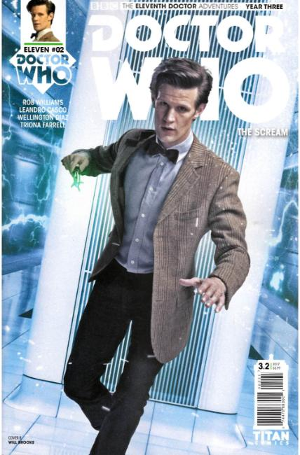 Doctor Who 11th Doctor Year Three #2 Cover B [Titan Comic] THUMBNAIL