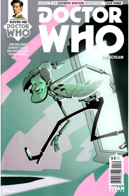 Doctor Who 11th Doctor Year Three #2 Cover C [Titan Comic] THUMBNAIL