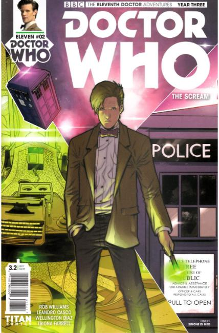 Doctor Who 11th Doctor Year Three #2 Cover D [Titan Comic] LARGE
