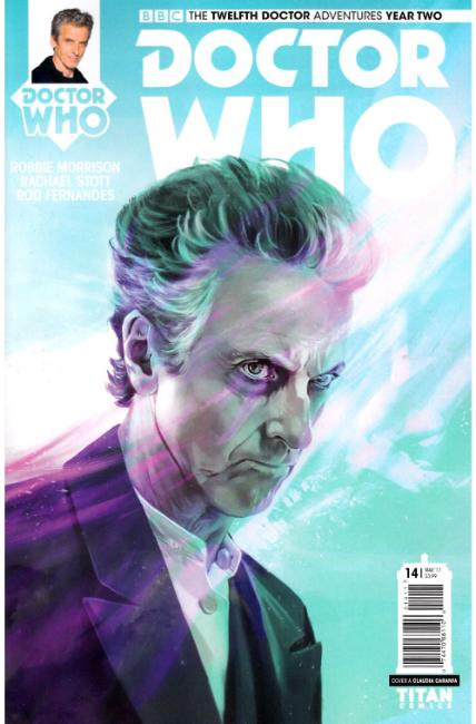 Doctor Who 12th Doctor Year Two #14 Cover A [Titan Comic] THUMBNAIL