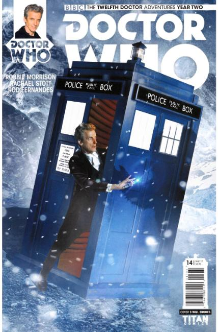 Doctor Who 12th Doctor Year Two #14 Cover B [Titan Comic] THUMBNAIL