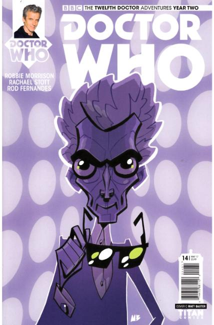Doctor Who 12th Doctor Year Two #14 Cover C [Titan Comic] THUMBNAIL