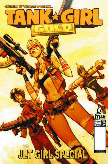 Tank Girl Gold #3 Cover A [Titan Comic] THUMBNAIL