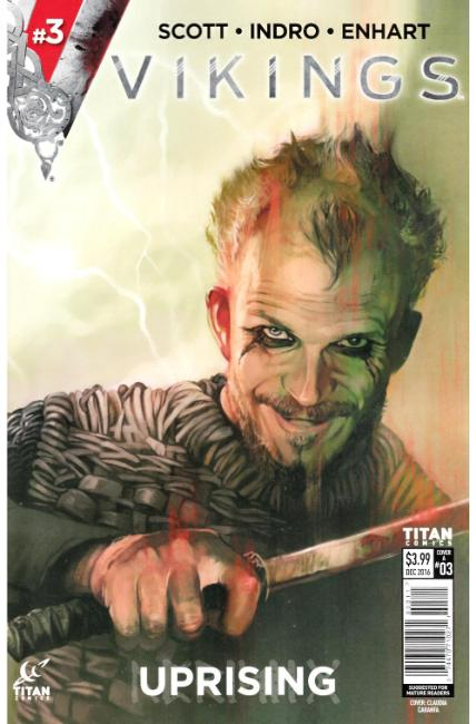 Vikings Uprising #3 Cover A [Titan Comic] THUMBNAIL
