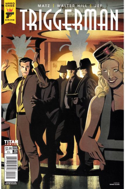Hard Case Crime Trigger Man #2 Cover C [Titan Comic] THUMBNAIL