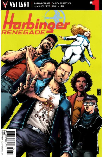 Harbinger Renegade #1 Cover A [Valiant Comic] THUMBNAIL