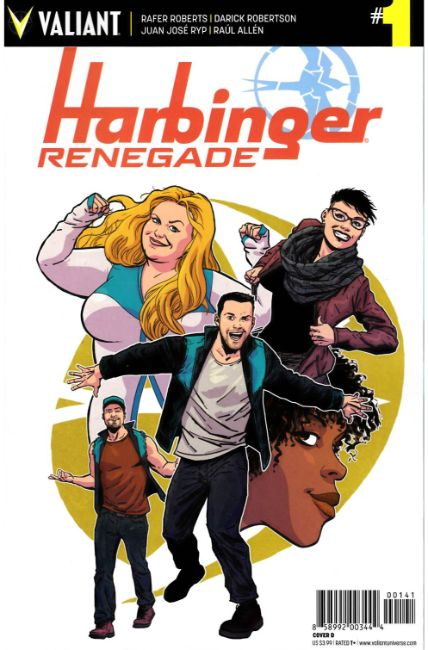 Harbinger Renegade #1 Cover D [Valiant Comic] THUMBNAIL