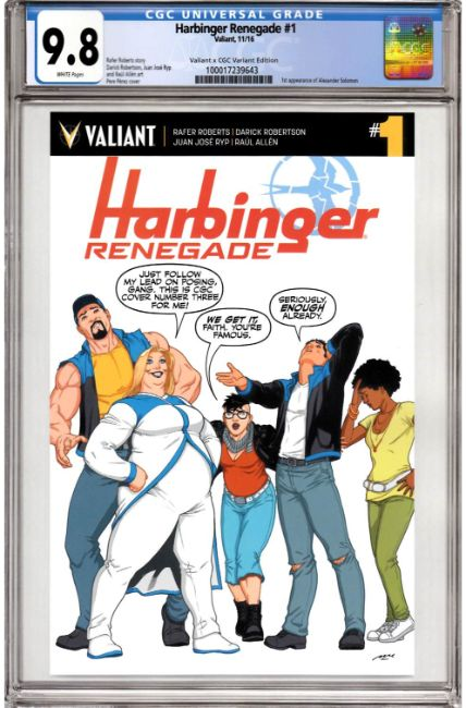 Harbinger Renegade #1 Cover E [Valiant Comic] THUMBNAIL