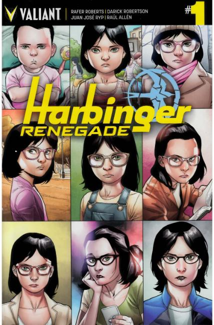 Harbinger Renegade #1 Cover G- Henry Incentive [Valiant Comic] THUMBNAIL