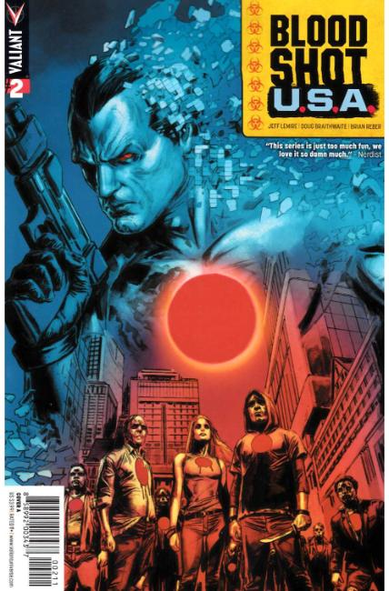 Bloodshot USA #2 Cover A [Valiant Comic] LARGE