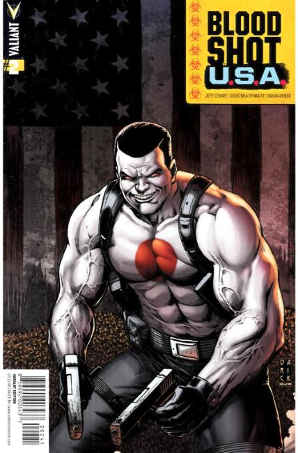 Bloodshot USA #2 Cover D- Robertson Incentive [Valiant Comic] THUMBNAIL