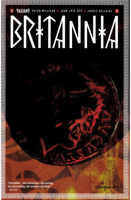 Britannia #3  Cover A [Valiant Comic]