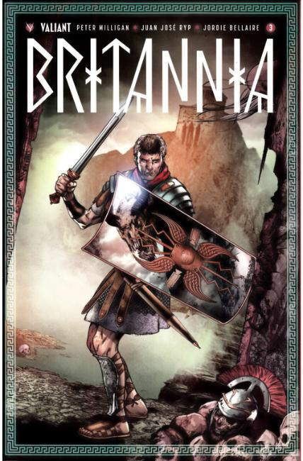 Britannia #3 Cover D- Evans Variant [Valiant Comic] LARGE
