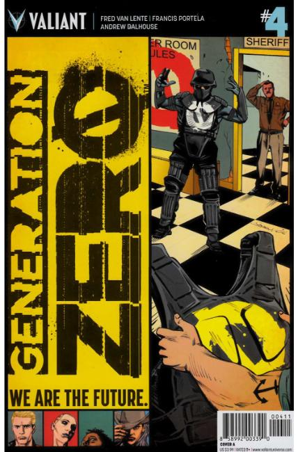Generation Zero #4 Cover A [Valiant Comic] THUMBNAIL