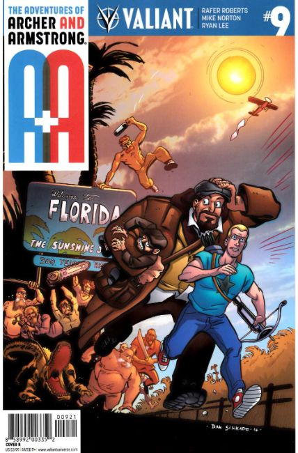 Archer & Armstrong #9 Cover B [Valiant Comic] LARGE