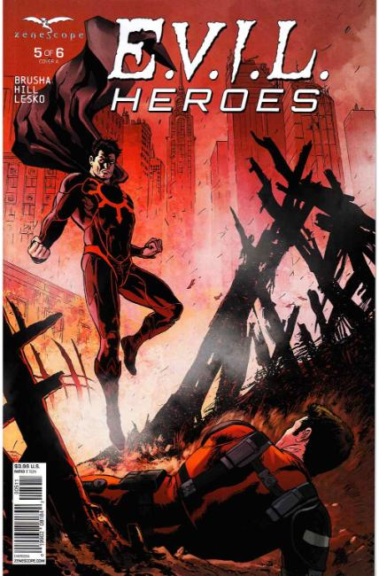 Evil Heroes #5 Cover A [Zenescope Comic] THUMBNAIL